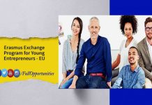 Erasmus Exchange Program for Young Entrepreneurs 2020