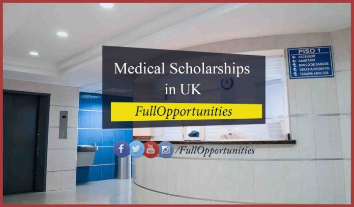 The Glenmore Medical Postgraduate Scholarships in UK
