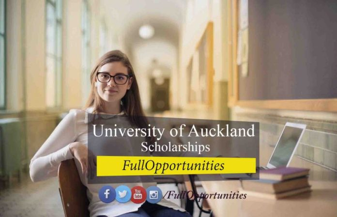 University of Auckland Scholarships