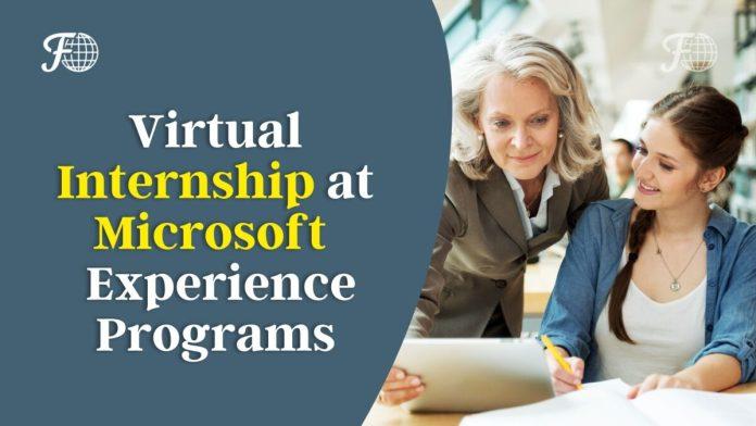 Virtual Internship at Microsoft 2021 - Virtual Experience Programs