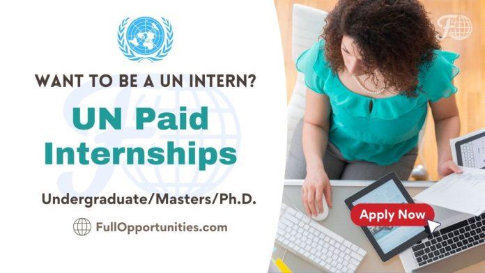 UN Internships program
