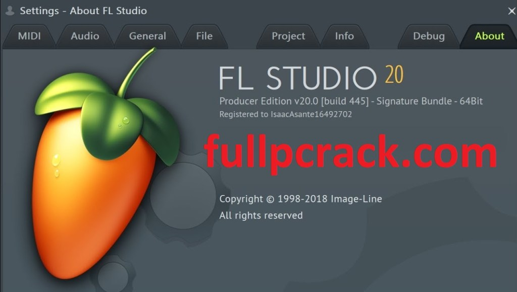 Fl Studio 20.7.0.1714 Crack Full With Registration Key Download