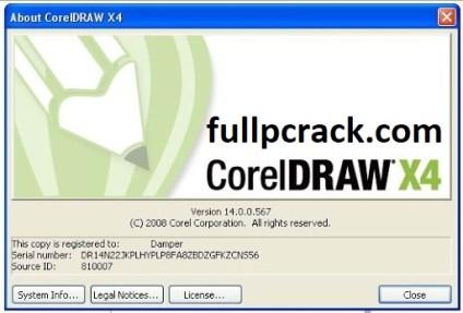 CorelDRAW X4 Keygen + Crack 2020 Free Download