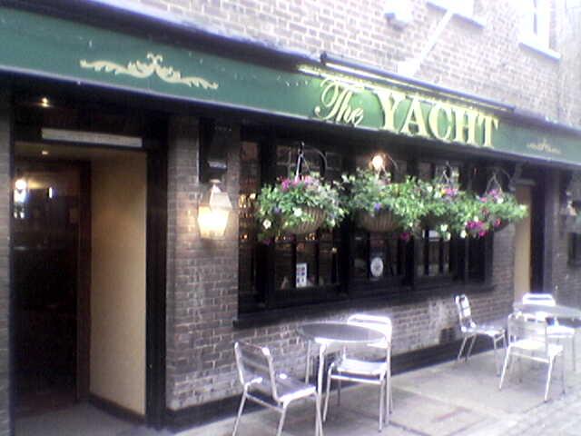 The Yacht Pub 5 Crane Street Greenwich London SE109NP