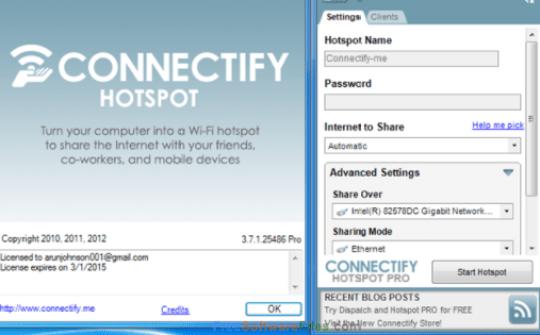 Connectify Hotspot Pro 2021 Crack + Activation Key [Latest]