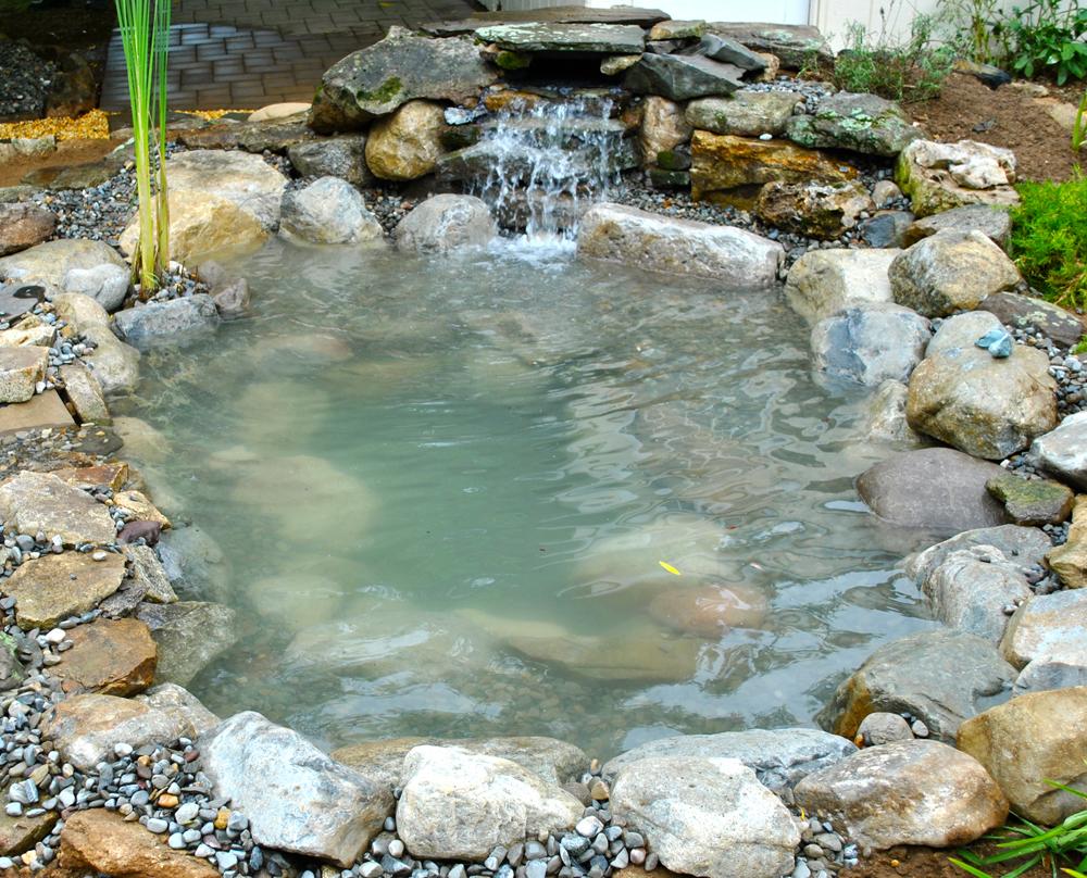 Stone Liner Pond Edging