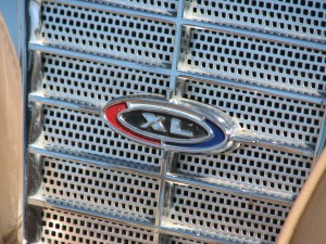 1964 Ford Galaxie 500XL Convertible Rear Speaker Grille
