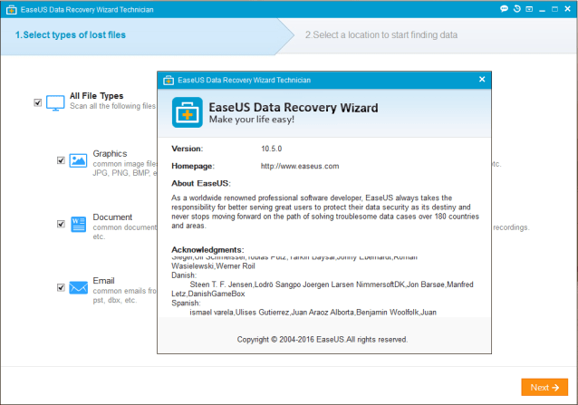 Easeus Data Recovery Wizard Pro 10.8 1