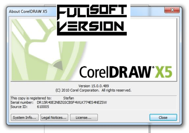 xin activation code corel draw x5