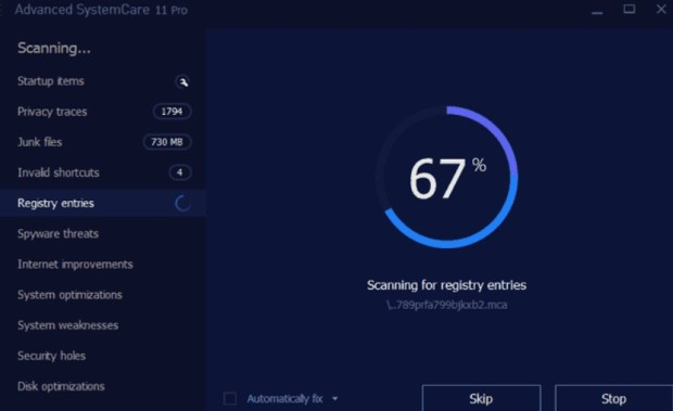 Advanced SystemCare Pro 11 Serial Key + Crack Full Version Free Download