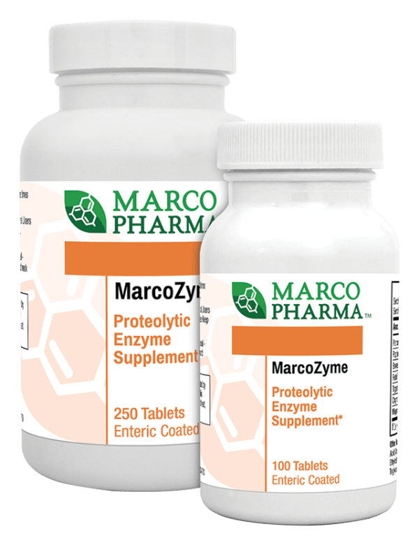 Marcozyme 100 and 250 tabs