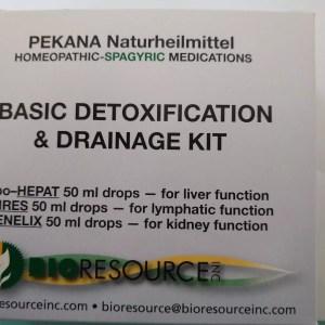 Pekana Big Three Detoxification & Drainage Kit