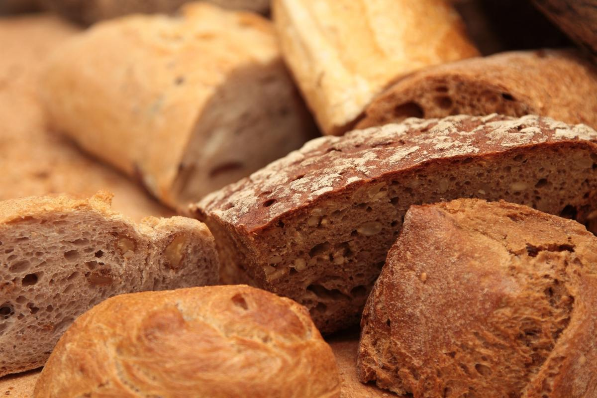 Gluten is most often associated with wheat products like bread, but it's found in a wide variety of grains and starches.