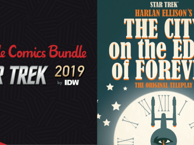 Name your own price for The Humble Comics Bundle: Star Trek 2019 by IDW Publishing!