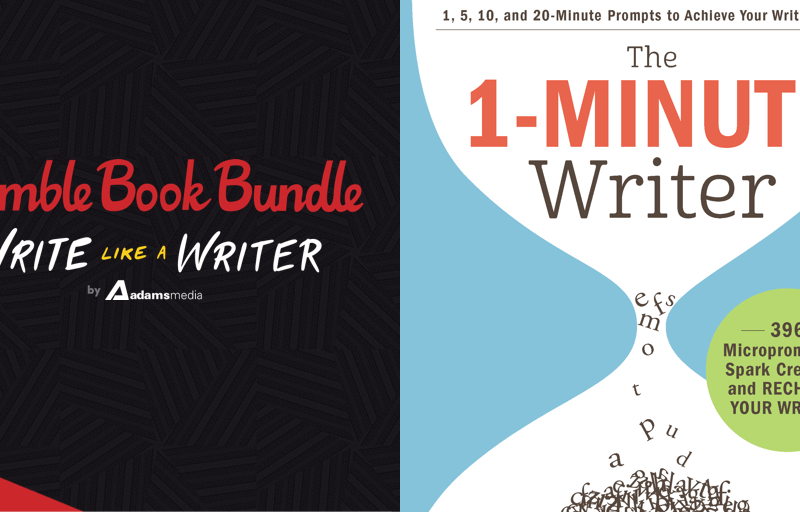 Pay what you want for The Humble Book Bundle: Write Like a Writer by Adams Media!