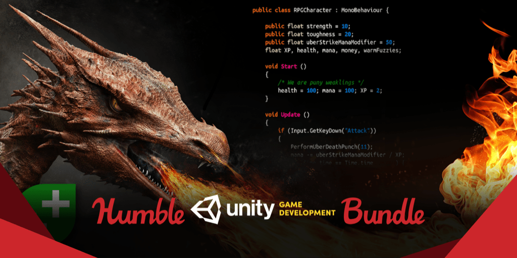 Pay what you want for The Humble Unity Game Development Bundle