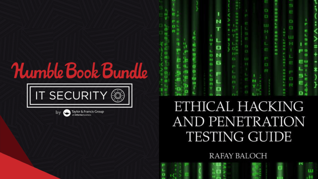 Pay what you want for The Humble Book Bundle: IT Security by Taylor & Francis!