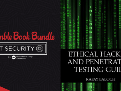 Pay what you want for The Humble Book Bundle: IT Security by