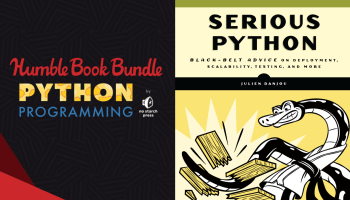 Pay what you want for great Python programming books in The