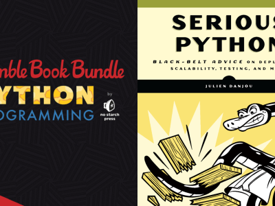 Pay what you want for The Humble Book Bundle: Python Programming by No Starch Press!
