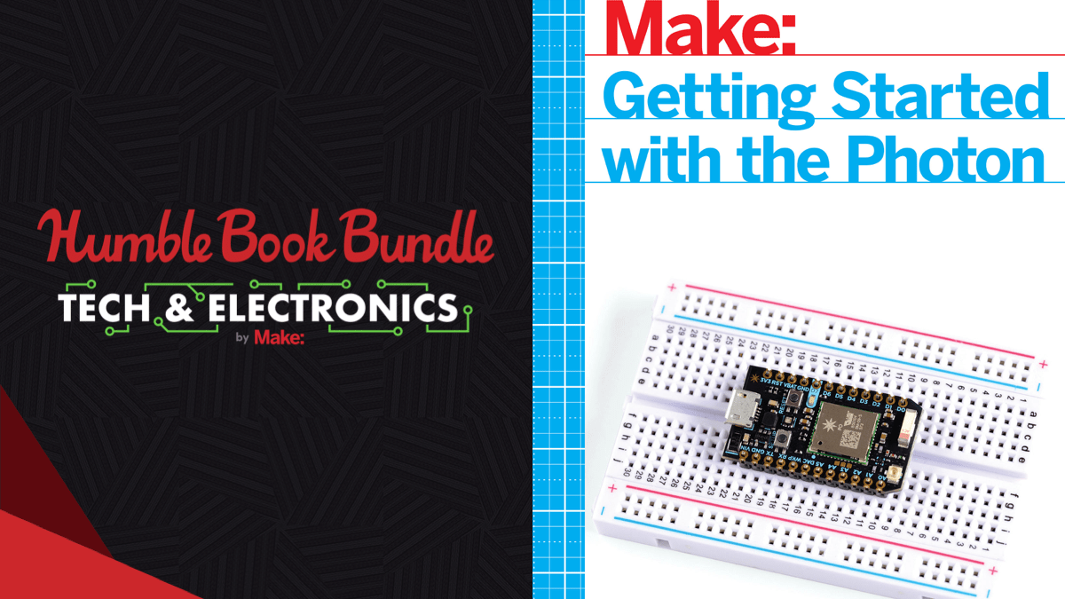 Pay what you want for the Humble Book Bundle: Tech & Electronics by Make Community