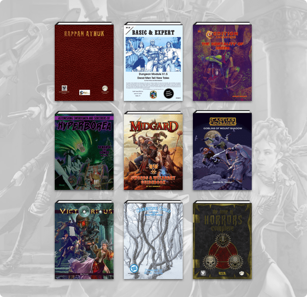 Humble RPG Book Bundle: Old School Fantasy Roleplaying