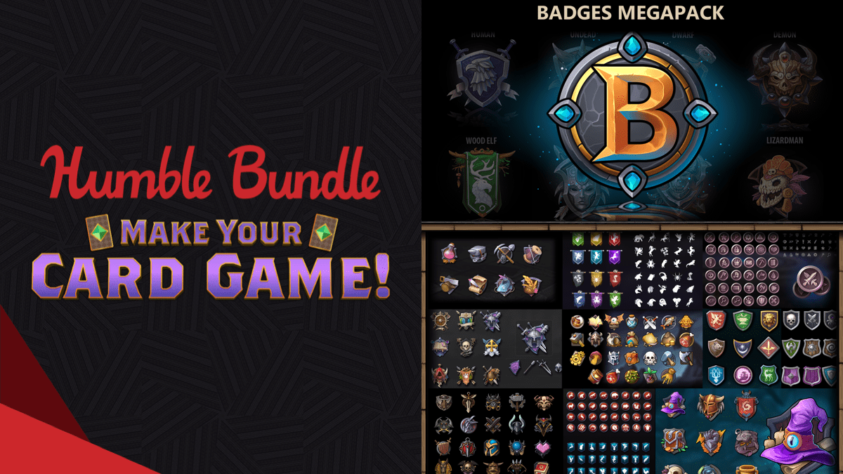 Pay what you want for the Humble Make Your Card Game! Bundle