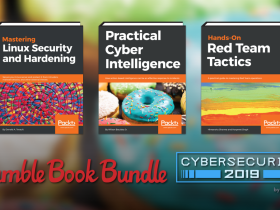 Pay what you want for the Humble Book Bundle: Cybersecurity 2019 by Packt