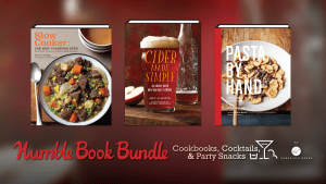 Pay what you want for The Humble Book Bundle: Cookbooks, Cocktails, & Party Snacks by Chronicle Books