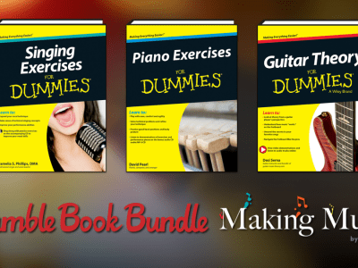 Pay what you want for The Humble Book Bundle: Making Music by Wiley