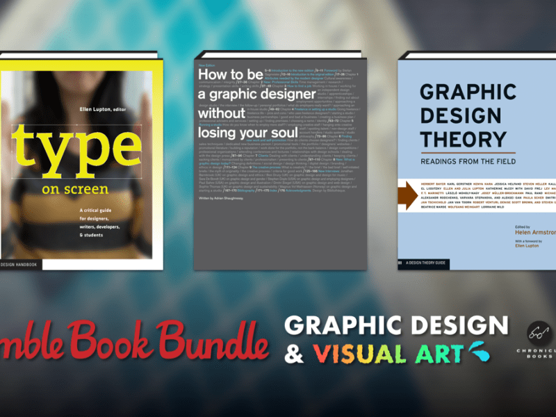 Pay what you want for The Humble Book Bundle: Graphic Design & Visual Art by Chronicle Books & Princeton Architectural Press