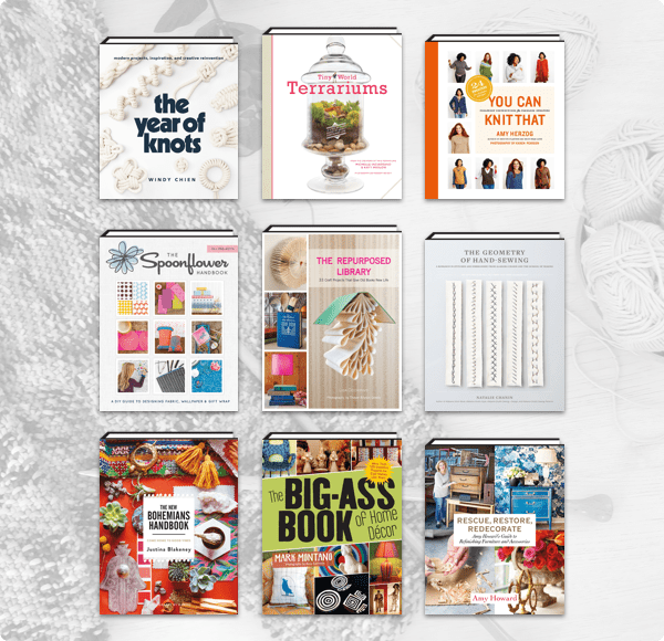 Humble Book Bundle: Get Crafty: Knitting, Sewing & Crafting by ABRAMS