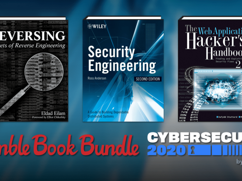 Pay $1 for The Humble Book Bundle: Cybersecurity 2020 by Wiley - Cryptography, Social Engineering, Human Hacking, and more!