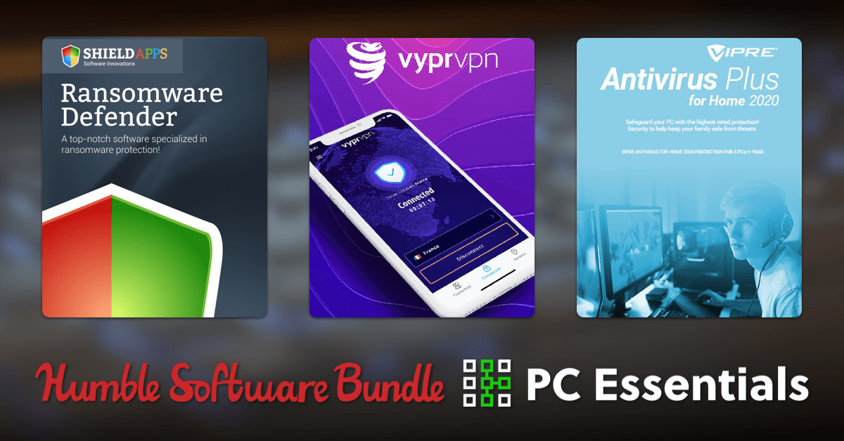 Starts at just $1 - Humble Software Bundle: PC Essentials with 3DMark, Dashlane Premium, VyprVPM Premium, and more!