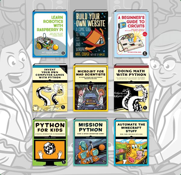Humble Book Bundle: Coding Starter Kit by No Starch Press