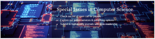 Guest Edited Special Issues & Topical Collections
