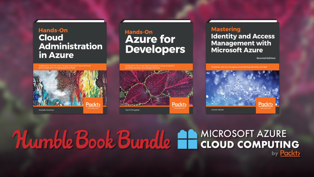 Just $1 - Humble Book Bundle: Microsoft Azure Cloud Computing by Packt!