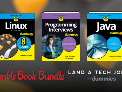 Just $1 - The Humble Book Bundle: Land a Tech Job 2.0 by For Dummies - SQL For Dummies, Java For Dummies, Job Interviews For Dummies, and more!
