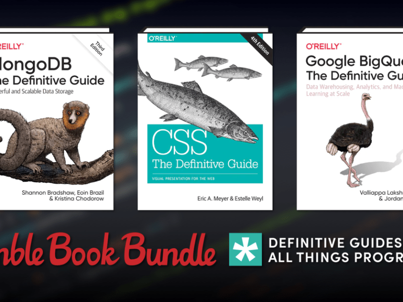 Just $1 - Humble Book Bundle: Definitive Guides to All Things Programming by O'Reilly