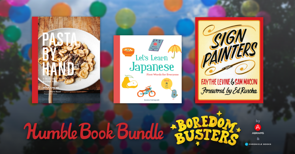 Just $1 - The Strange Case of Origami Yoda, Fast Breads: 50 Recipes for Easy, Delicious Bread & more in Humble Book Bundle: Boredom Busters by ABRAMS & Chronicle Books