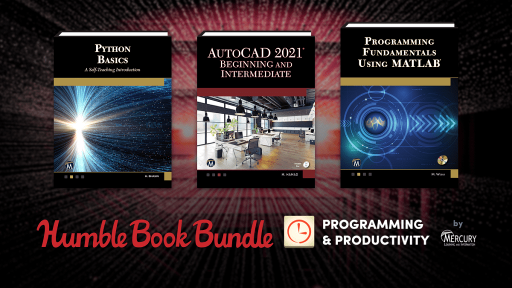 Pay what you want for great eBooks like Data Science Tools, Python Basics, and more in The Humble Book Bundle: Programming & Productivity by Mercury