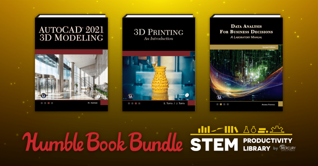 Get ebooks like Mathematics for Computer Graphics and Game Programming, 3D Printing, Python Programming, & Industrial Engineering Foundations in Humble Book Bundle: STEM Productivity Library by Mercury!