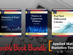 Name your price for The Humble Book Bundle: Applied Math & Statistics Toolkit by Morgan & Claypool