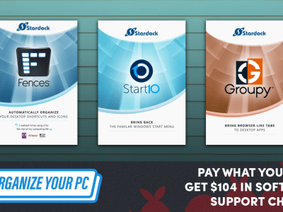 Get software like Start10, DeskScapes, and Fences in the Humble Software Bundle: Tools to Level Up Your PC