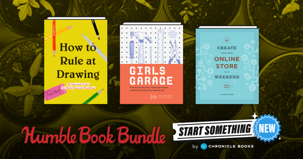 Name your price for ebooks like 52 Small Changes for the Mind, Graphic Design Theory, & Creative, Inc. Plus, your purchase helps support BINC & Worldreader!