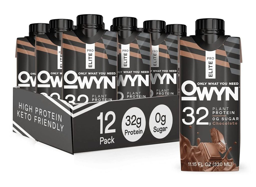 Review: OWYN Pro Elite Plant-based High Protein Shake (Chocolate)