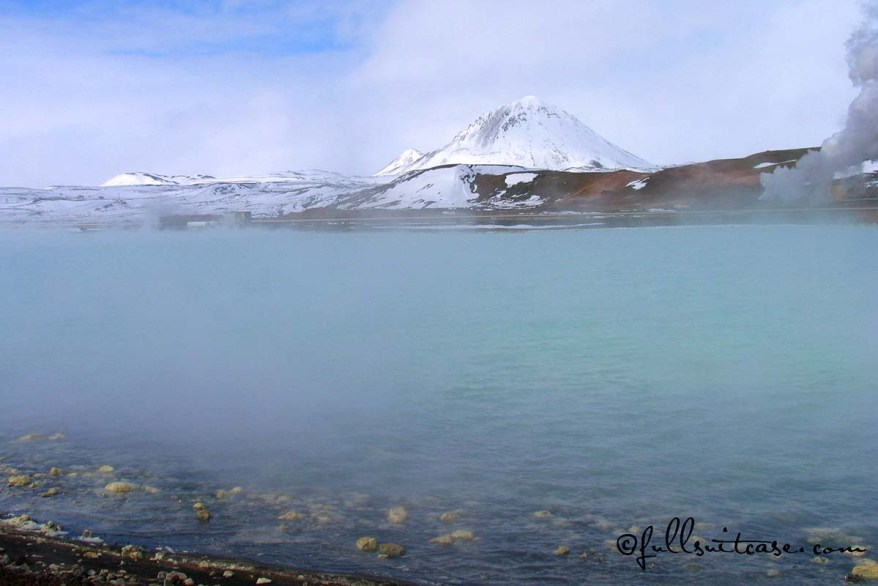 Hot pools - Myvatn Nature Baths in North-East Iceland