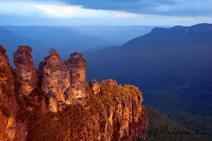 Three sisters Katoomba Blue Mountains Australia
