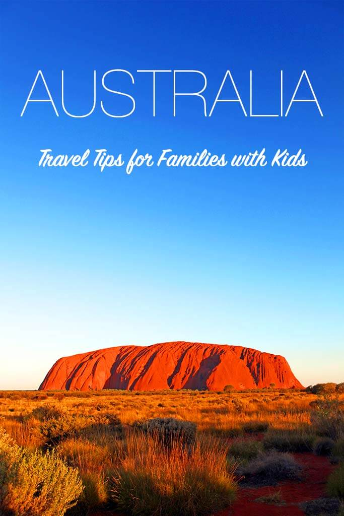 Australia with kids: travel tips and practical tips for a family trip Down Under