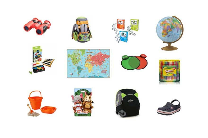10 gift ideas for traveling kids